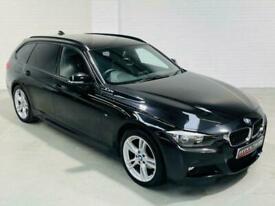 image for BMW 3 SERIES M SPORT 320D XDRIVE 4X4 TOURING BLACK F30 F31 2013 ESTATE DIESEL
