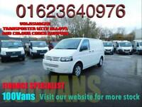 VOLKSWAGEN TRANSPORTER T5 2.0TDi 102PS SWB T28 VERY CHEAP CLEAN VAN FOR MONEY
