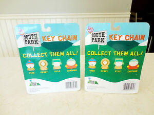 New Unopened South Park Solid Resin Keychains -Stan and Kyle Kitchener / Waterloo Kitchener Area image 2