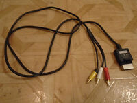 Xbox 360 Std Def TV Cables...lightly used...ONLY $2 !