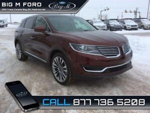 2016 Lincoln MKX Reserve  - Leather Seats -  Cooled Seats - $306