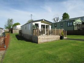 Atlas Debonair 38x12 Sited on Causey Hill Holiday Park Hexham Northumberland