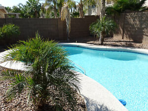 LUXURY 4BRM HOME HEATED POOL, NEWLY FURNISHED, MARICOPA, PHOENIX