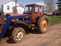 Swap trade for smaller tractor