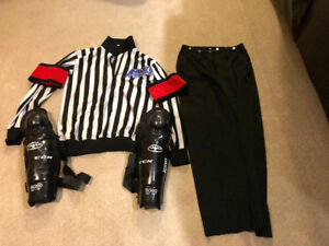 Ref Top, Pants and Shin Pads