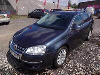 VW VOLKSWAGEN GOLF 1.9 TDi 105 ESTATE~57/2007~5 SPEED MANUAL~5 DOOR ESTATE