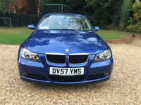 2007 57 BMW 318d SE 2.0 TURBO DIESEL 6 SPEED FACELIFT FBMWSH 75K MILES 68 MPG