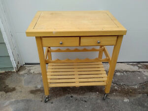 Wine Cart Table