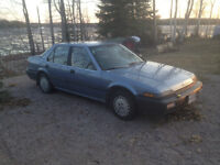 1989 Honda Accord Sedan