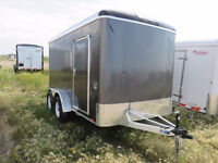 2016 Lightning Trailers 7' Wide Round Top Cargo LTR712SA