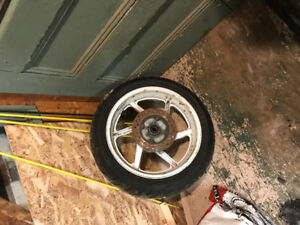 Used 17 inch rim and tire