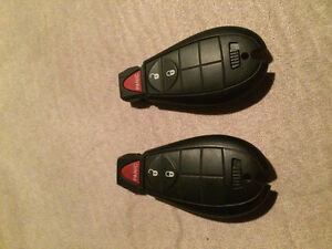 2 Fobs for 2014 Dodge Ram