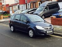 2009 Vauxhall Zafira 1.6, 7 Seater, Long MOT, Service History, Low Mileage, Only One Former Keeper