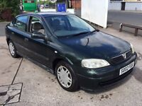 VAUXHALL ASTRA CLUB 1.6 2002. CHEAP