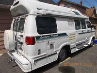 1997 Dodge B3500 Leisure Travel Wide Body Camper Van Motorhome