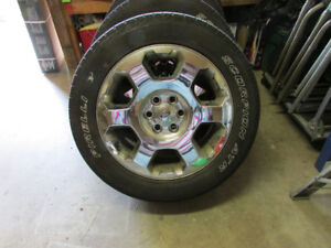 4 X 20 inch ford f150 OEM rims including  pirelli Scorpion tires