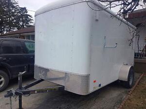 Amazing 2017 6 x 12 cargo trailer only $4000