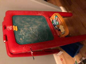 Kids Chaulk board and writing table 2-1