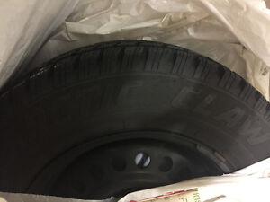 New Winter Tires on Rims 14in $500 obo London Ontario image 1