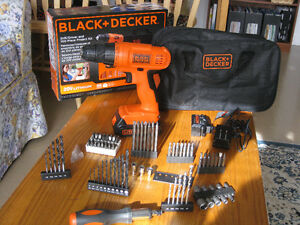 PERCEUSE 20Volts Black & Decker