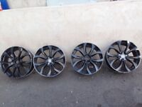 "Audi alloys 5 x 112 19"" spares or repairs"