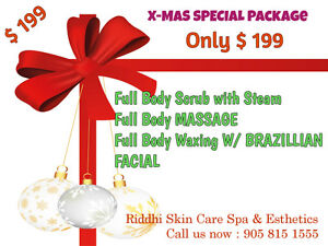 Massage,Waxing cristmas Gift Card/Certificate**Free delivery** Cambridge Kitchener Area image 2