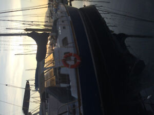 38' sail boat for sale. Ladysmith