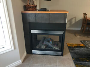 3 Sided Direct Vent Gas Fireplace