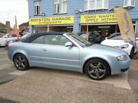 BAD CREDIT CAR FINANCE AVAILABLE 2003 / 03 AUDI A4 CABRIOLET 3.0 CVT SPORT