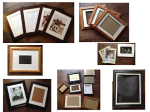 Assortment of 25 Picture Frames