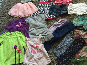 Girls, size 3/4 yrs clothes