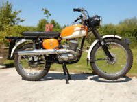 BSA BANTAM BUSHMAN D14B 1970 175cc