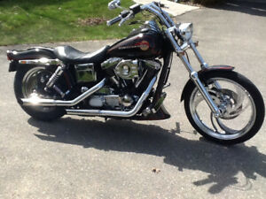 1995 Harley FXDWG in excellent condition ...owned since 1995