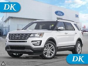 2016 Ford Explorer Limited AWD w/Leather, Moonroof, and More!