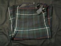 2 kilts with pouch, belt, acc - tattered (men 38-40)