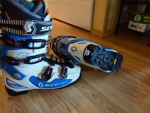 Freeride/Touring boots size 28.5, for all bindings (u.a.dynafit)