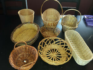 Wicker Gift Baskets - Great For Easter