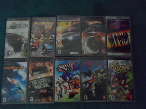 SONY PSP GAMES AND MOVIES FOR SALE