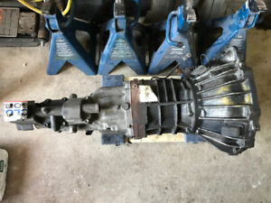 W55 5 speed manual transmission from IS300