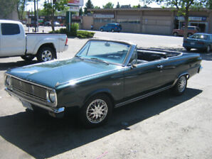 1966 Dodge Valiant Convertible