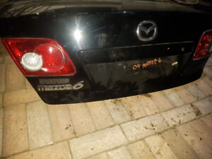 Used Trunk Lid For 2004 Mazda 6