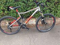 Voodoo CANZO mountain bike. Fluid brakes (not carrera bikes, giant bikes, (GT bikes, Carrera bikes)