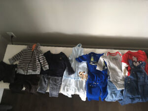 Baby boy clothes (over 56 pieces)