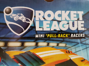 ROCKET LEAGUE Pull Back racers