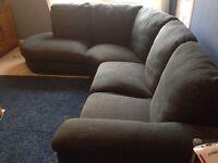 Ikea large fabric sofa