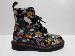 Single Shoe Dr Martens Pascal Floral One Shoe Right Amputee Sz 6