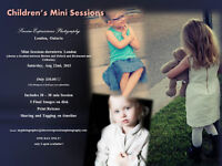 CHILDREN'S MINI SESSIONS!! Only 6 spots available!