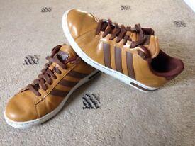 Adidas tan trainers