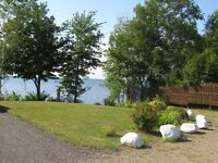 2014 PARK MODEL COTTAGE ON WATERFRONT, GRAND LAKE, NB