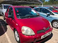 Toyota Yaris 1.0 VVTi 2001 Colour Collection MOT CHEAP TAX PERFECT DRIVE NEW